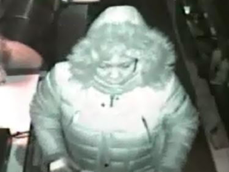 A surveillance photo of a female who allegedly burglarized a combined fast food restaurant on Friday morning.   Glen Ellyn police