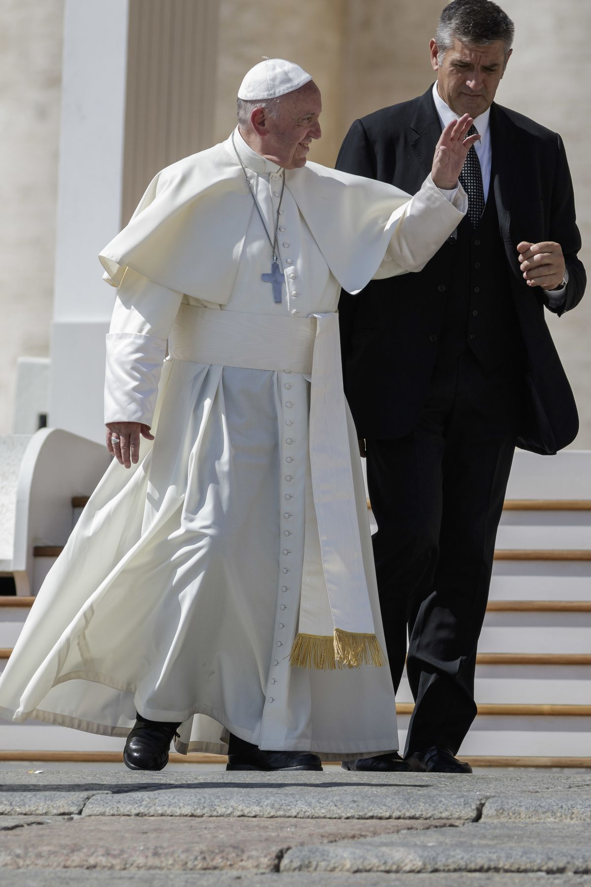 """Pope Francis's simple style led Esquire to name him 2013 """"Best Dressed Man of the Year."""""""
