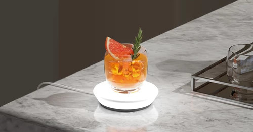 Cocktails are sometimes hard to make, so Barsys made a smart coaster that helps you do it better