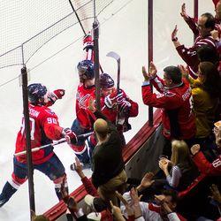 Cheering Kuznetsov Goal
