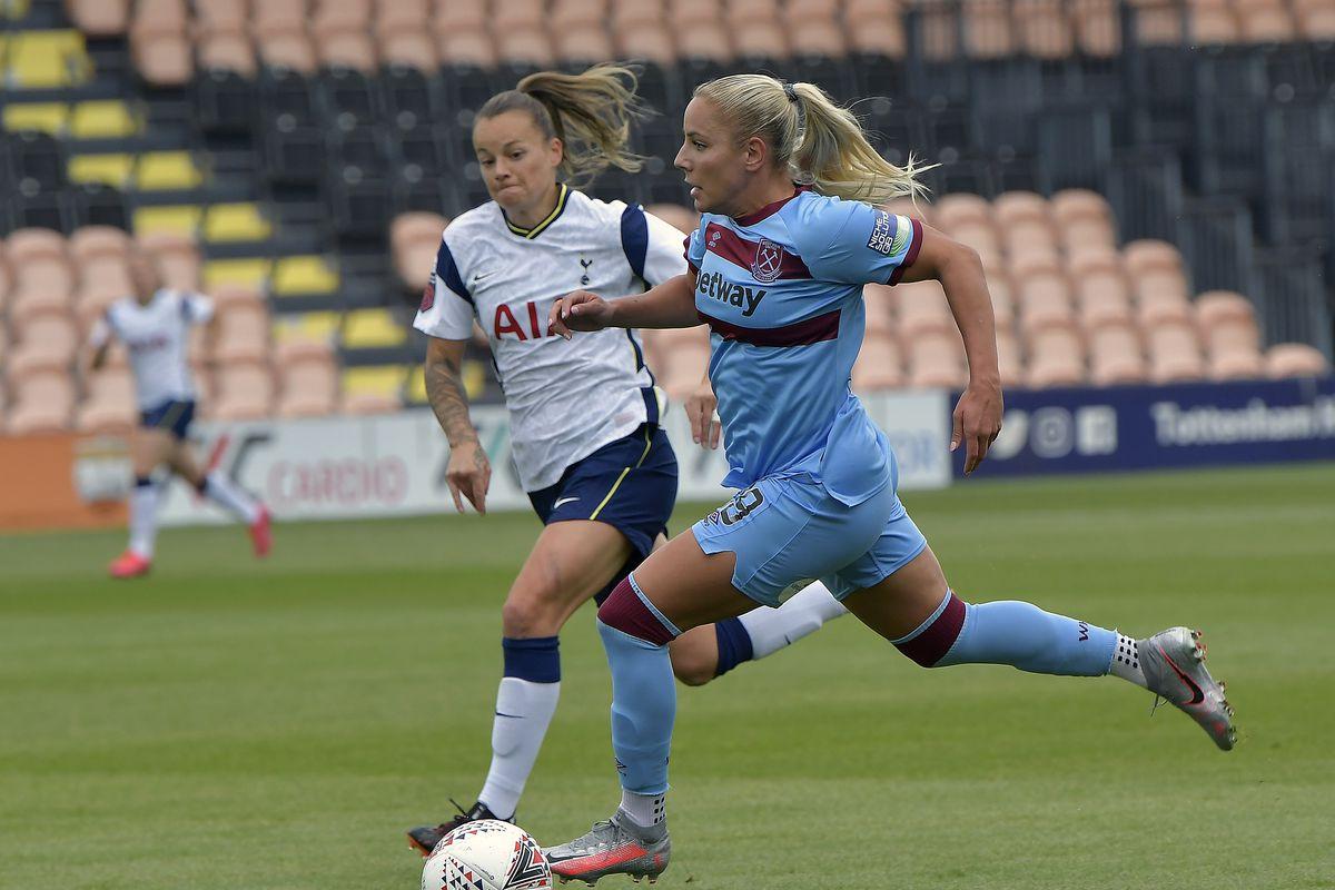 Tottenham Hotspur v West Ham United - Barclays FA Women's Super League