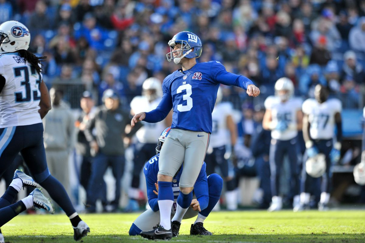 Josh Brown is excited about the new dimensions the extra point rule change adds.