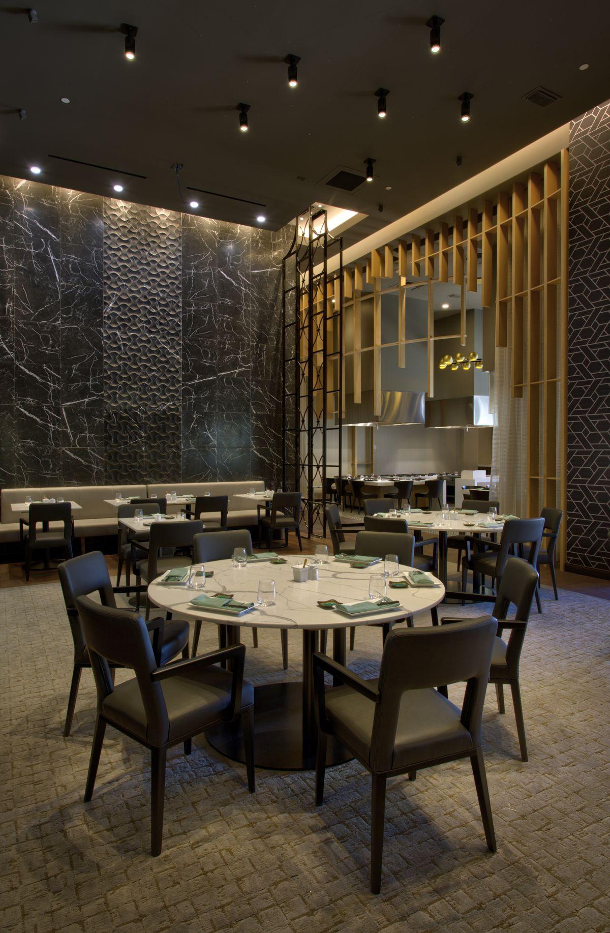 The dining room at Jade
