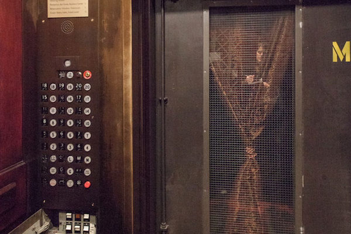 """The prohibition room above the elevator area can only be accessed by tricking a specific elevator's electrical panel [Photo by <a href=""""http://www.patriciachangphotography.com/"""">Patricia Chang</a>]"""