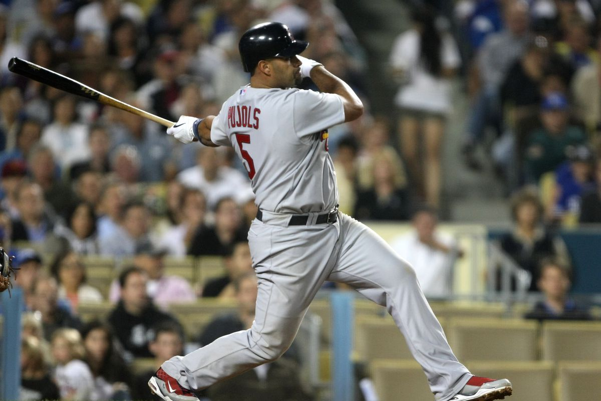In 2009 Albert Pujols tied the NL grand slam record - A Hunt and Peck