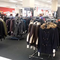 The coat department is 40% off. Expect to find DKNY, W118 by Walter Baker, Michael Kors and more. Sweaters (including cashmere) are marked down to 30% off.
