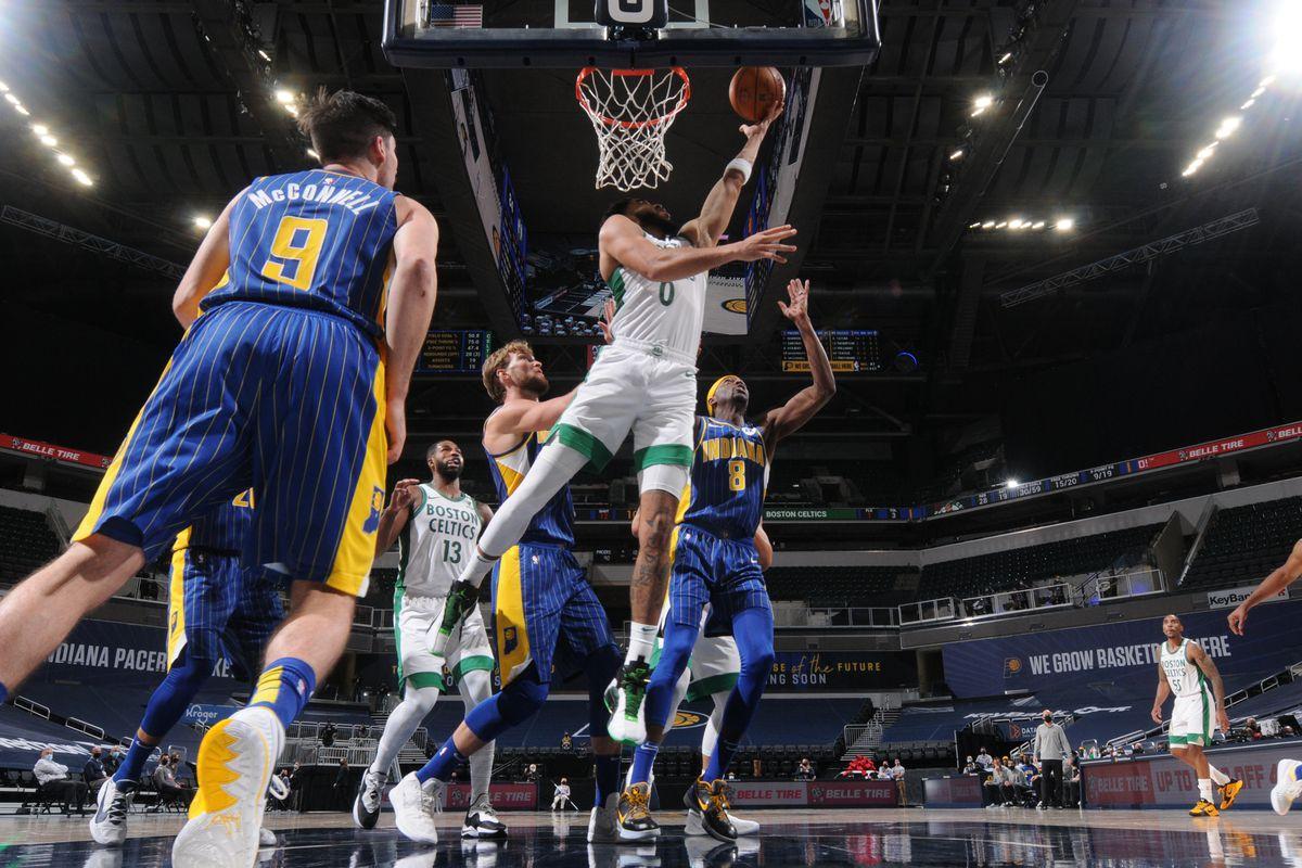 Boston Celtics v Indiana Pacers