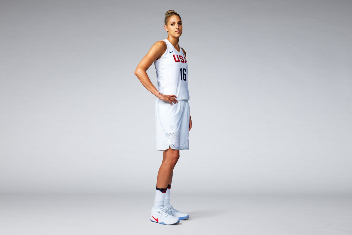 c60255d7d01 The new USA Basketball uniforms aren't uniform, which is why Elena ...