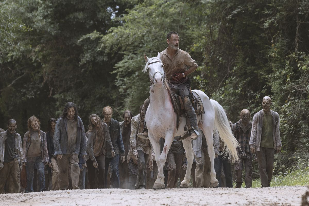 The Walking Dead has a Rick Grimes movie trilogy on the way