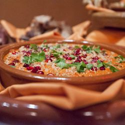 """Pomegranate Dip at Boulud Sud by <a href=""""http://www.flickr.com/photos/nicknamemiket/7222203900/sizes/l/in/pool-29939462@N00/""""> nicknamemiket</a>"""