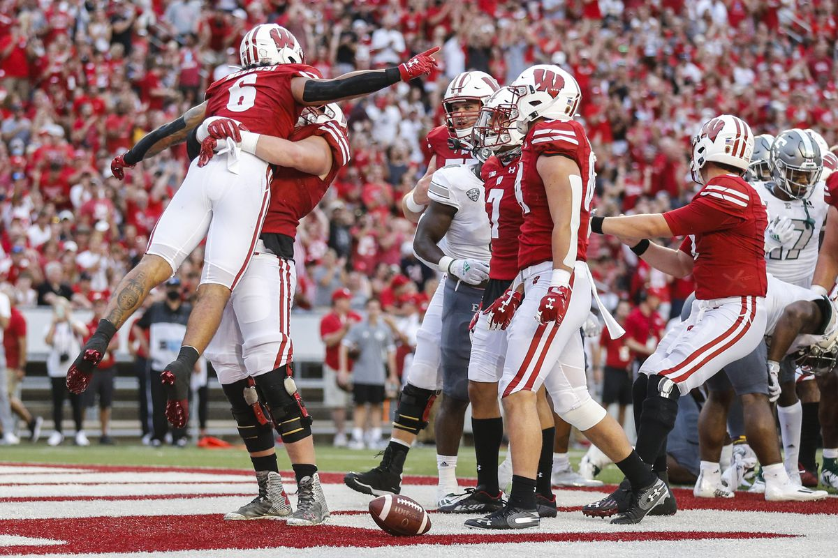 COLLEGE FOOTBALL: SEP 11 Eastern Michigan at Wisconsin