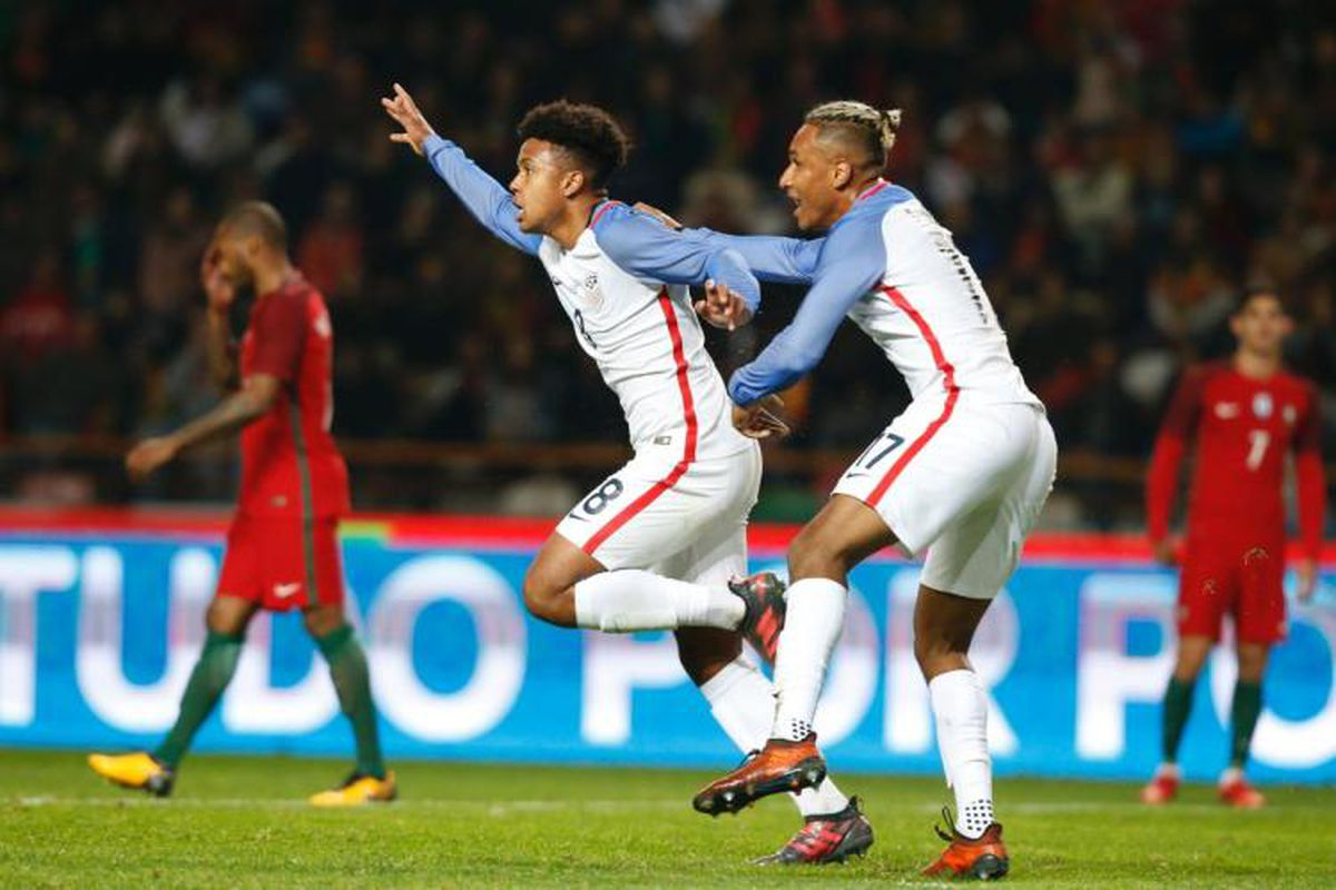 7e381a6fe USA 1-1 Portugal recap  A good day for the youngsters - Stars and ...