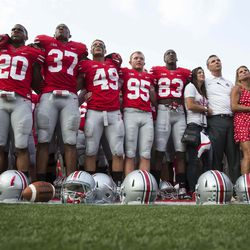 Carmen Ohio after the game.