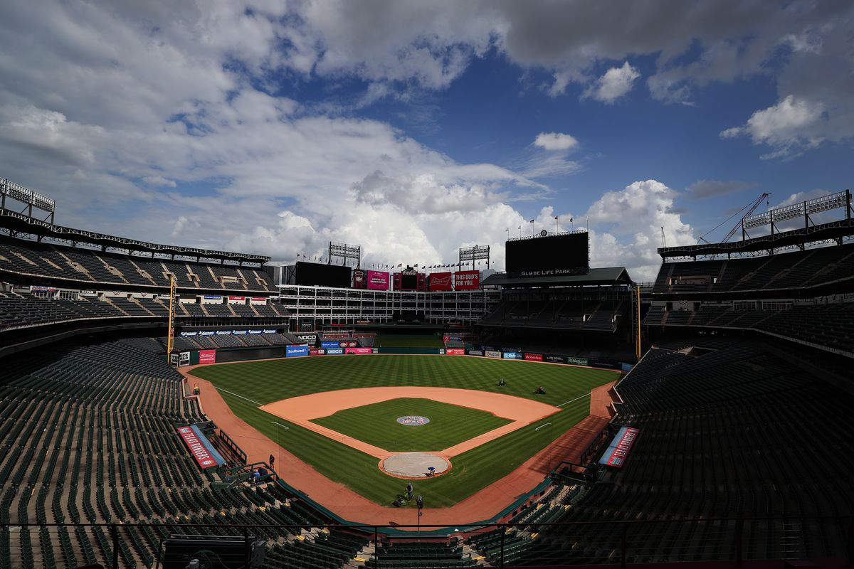 Los Angels Angles v Texas Rangers Has Been Postponed Due To The Tragic Passing Of Tyler Skaggs