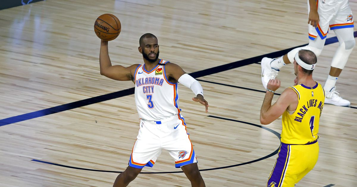 Lakers look lifeless in 105-86 loss to Thunder thumbnail