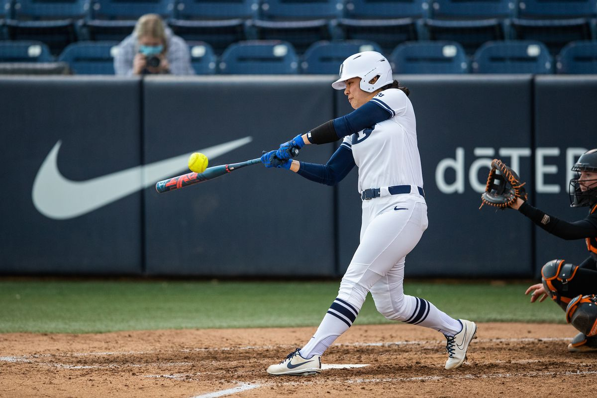 BYU softball defeated Southern Illinois and Arizona State in NCAA Tournament play to reach the NCAA regional final.