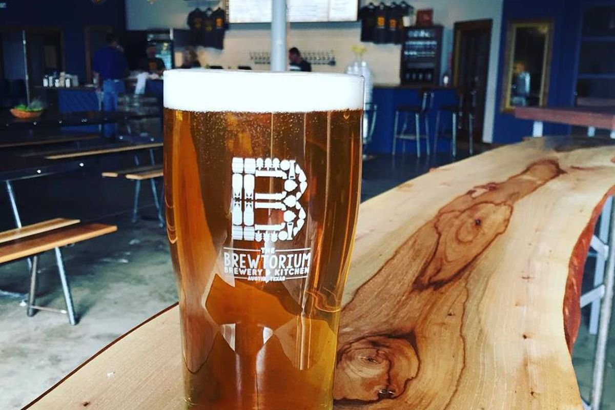 A beer from Brewtorium