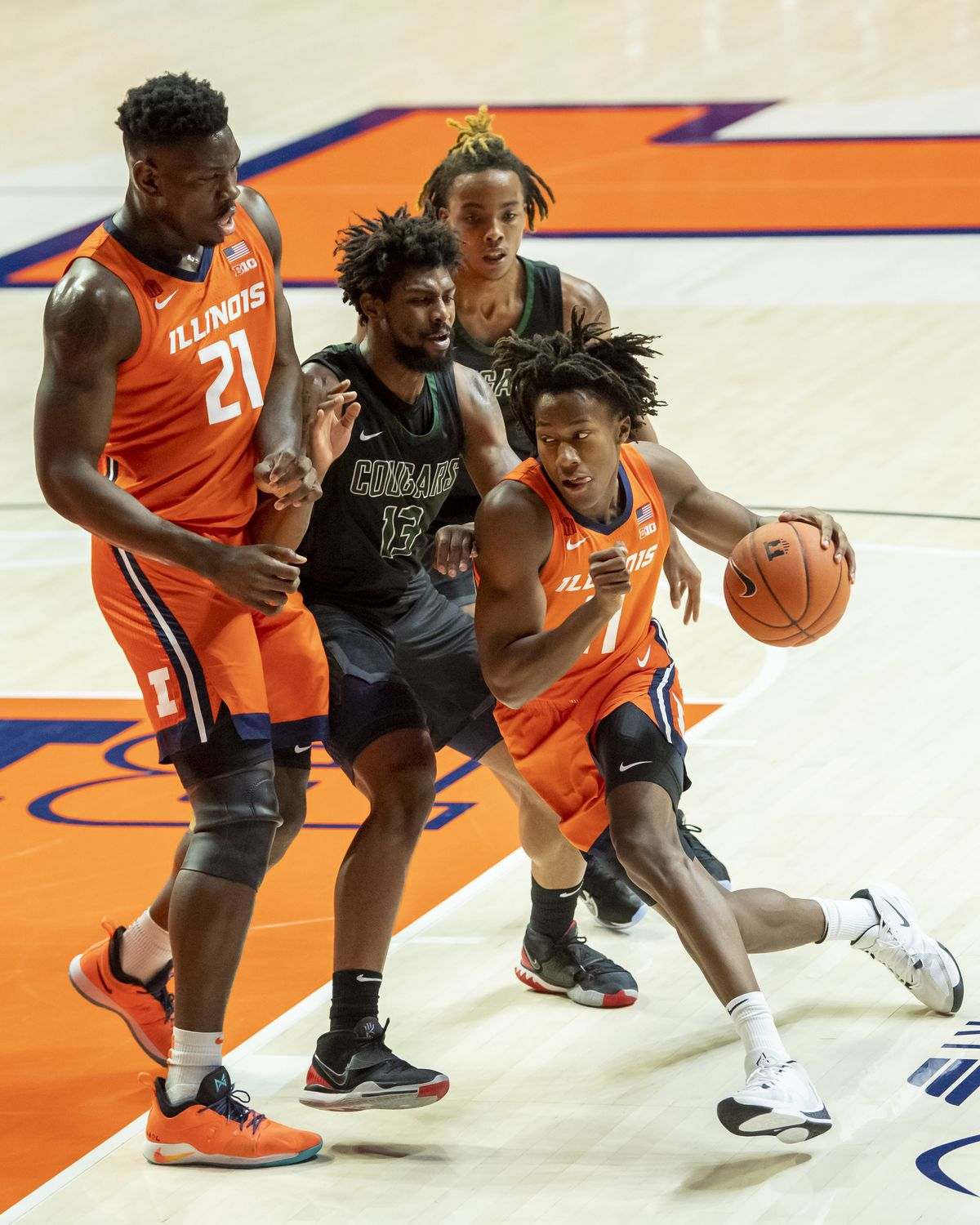 NCAA Basketball: Chicago State at Illinois