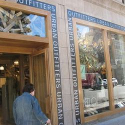 Urban Outfitters on the Upper East Side
