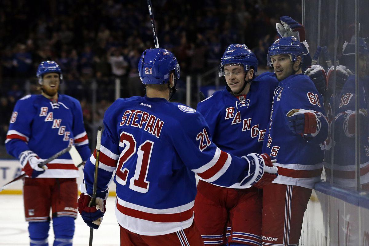 NHL: Tampa Bay Lightning at New York Rangers