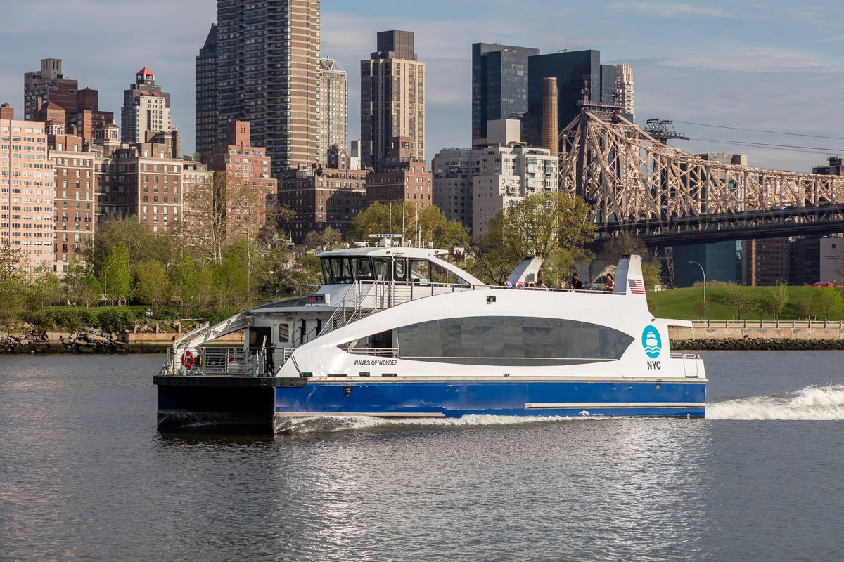 Developer's proposed ferry link between Astoria and Upper