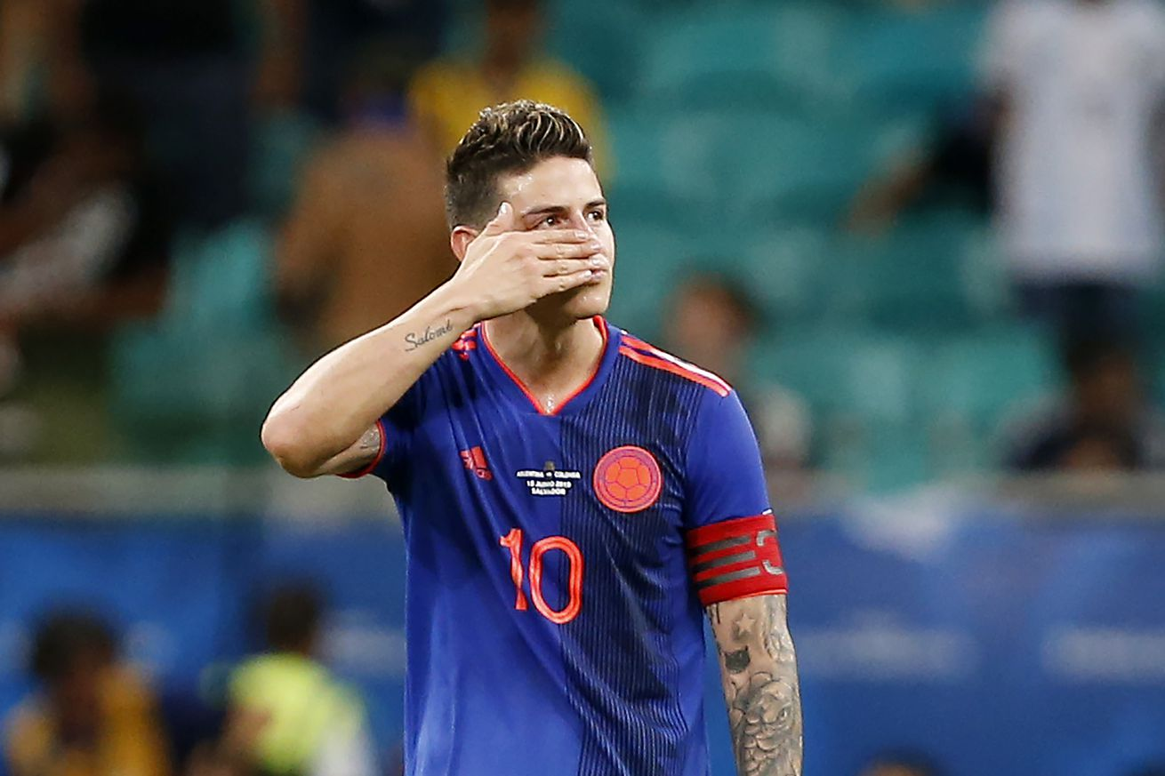 Real Madrid and Napoli set to complete a loan deal for James Rodríguez