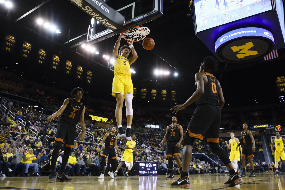 NCAA Basketball: Texas at Michigan