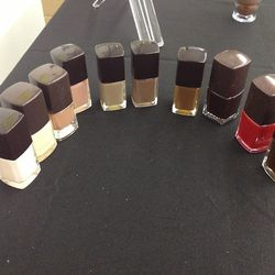 Nail lacquers, $8