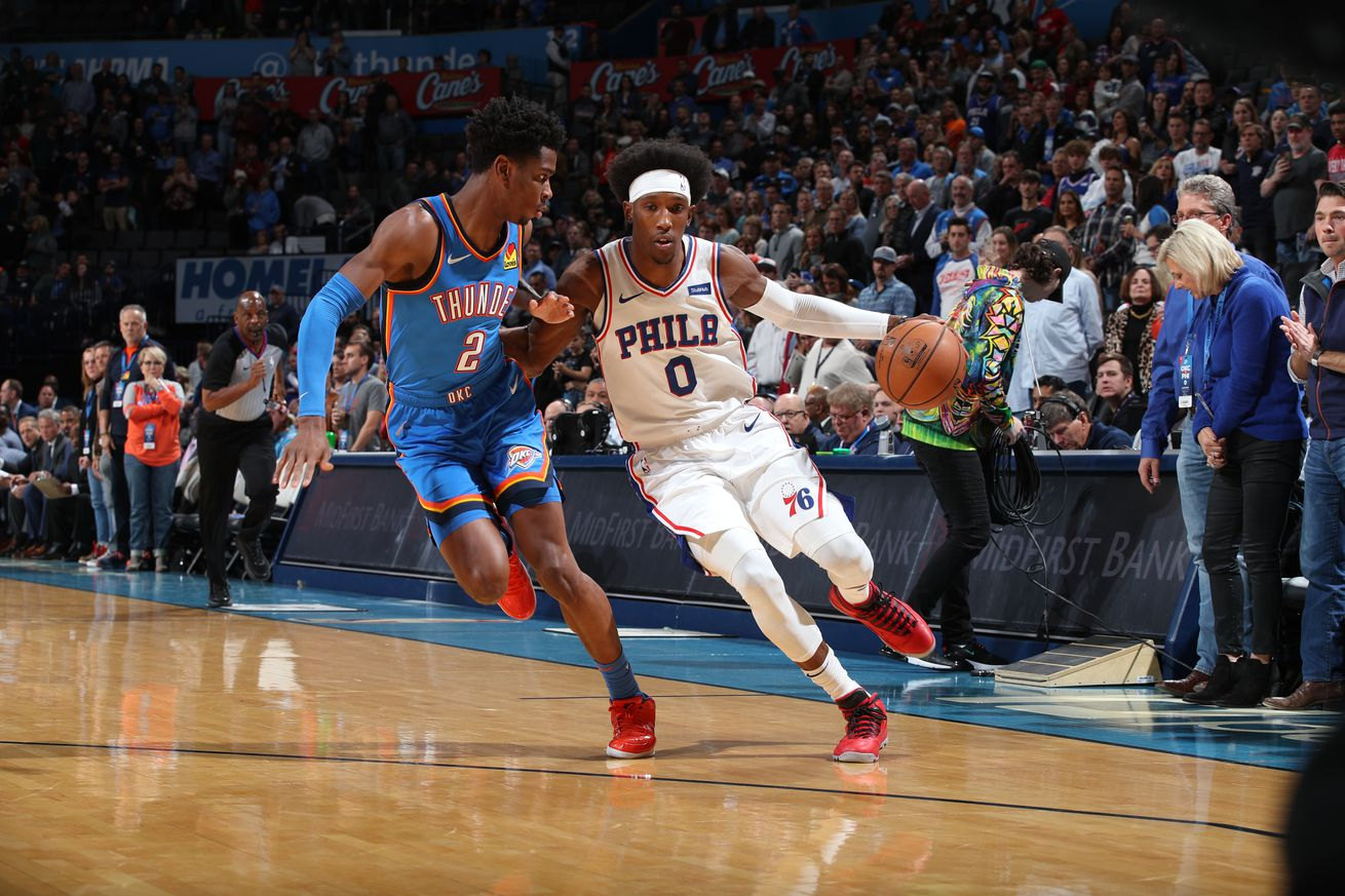 Sixers Bell Ringer: Game 12 - Sixers take 53 minutes to lose winnable game in Oklahoma City