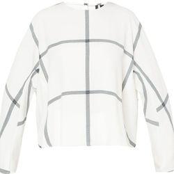 "Mango Check Crepe Blouse, <a href=""http://shop.mango.com/US/p0/women/new/check-crepe-blouse/?id=31023633_OW&n=1&s=nuevo&ident=0__0_1410136493429&ts=1410136493429"">$59.99</a>"