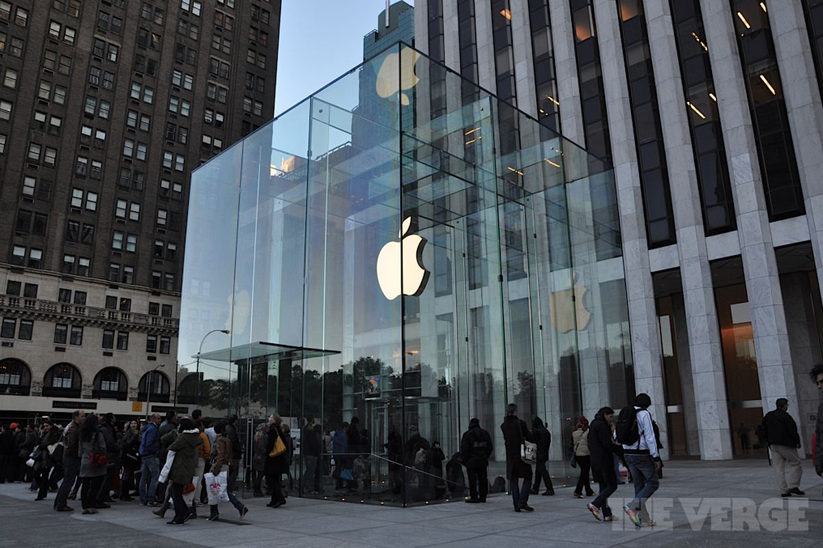 Fifth Avenue Apple Store redesign unveiled after months of ...
