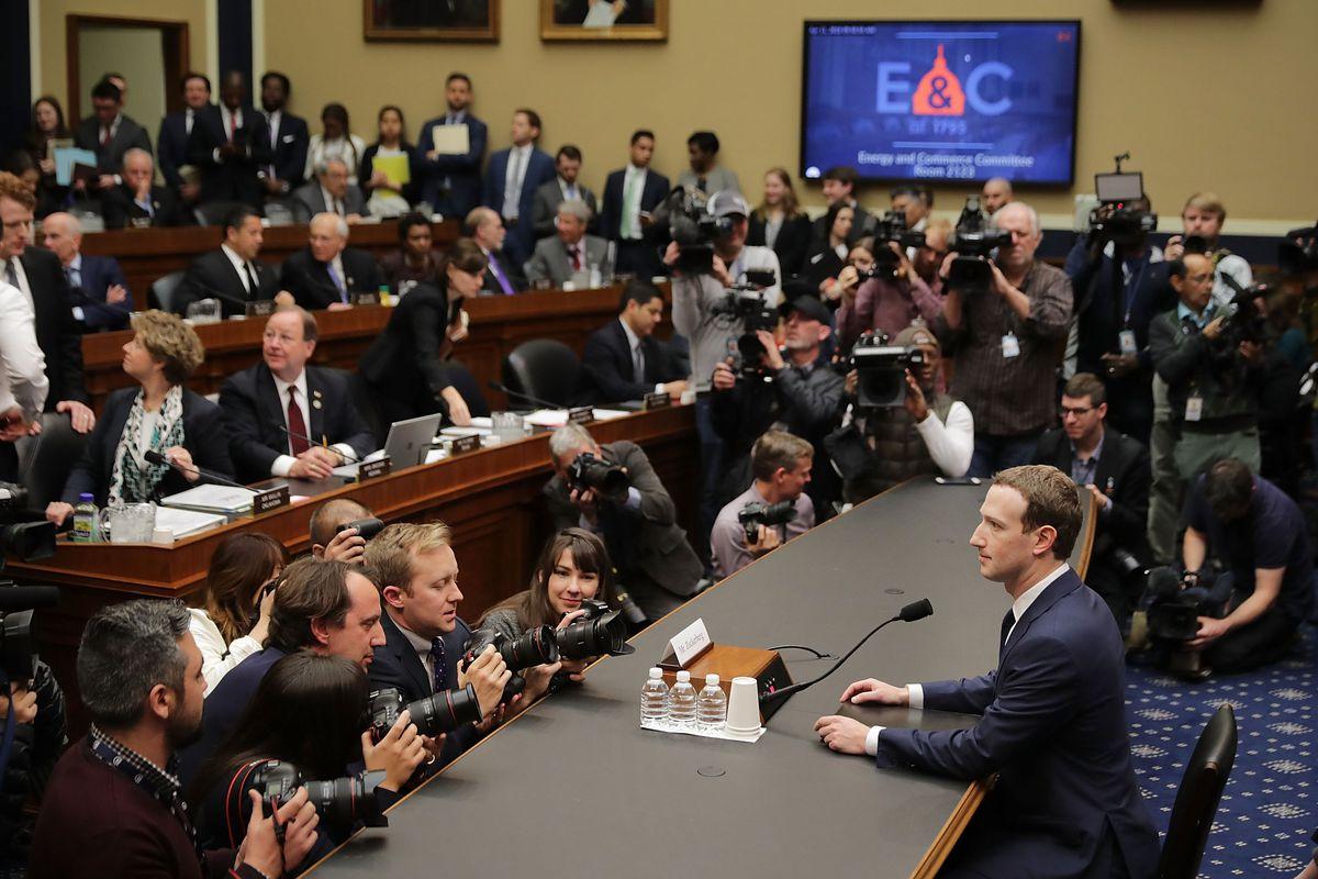 Facebook CEO Mark Zuckerberg's Congress testimony: Live