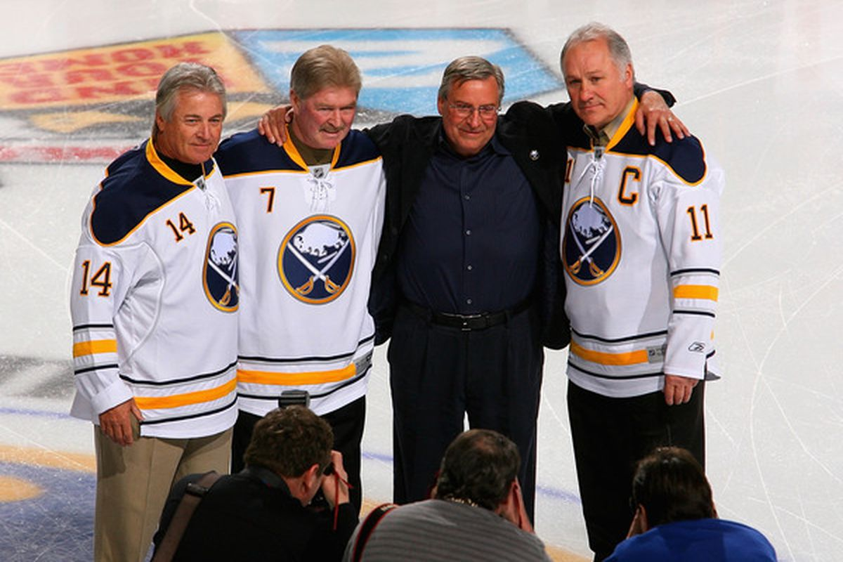 buy popular 128a4 c472e Buffalo Sabres Daily Links: Alumni Plaza, French Connection ...