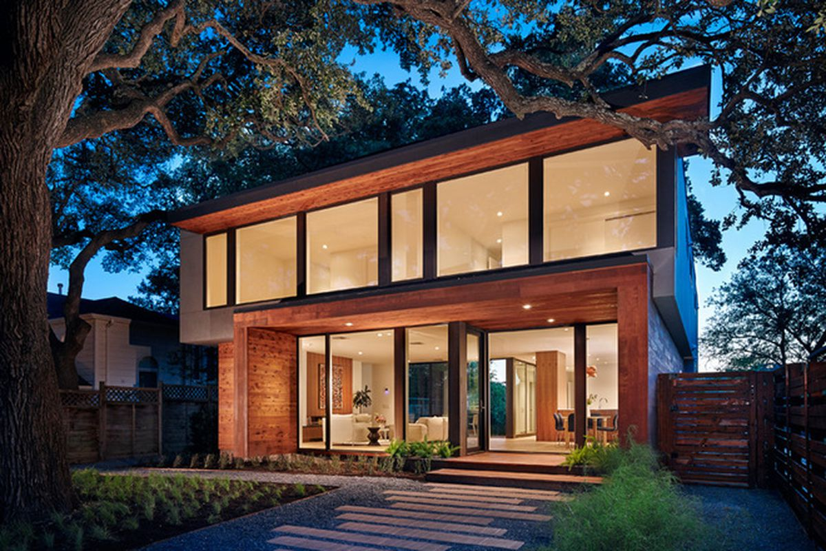 """All photos by <a href=""""http://www.mattgarciadesign.com/"""">Matt Garcia</a> via <a href=""""http://www.contemporist.com/2015/08/03/a-new-family-home-sits-comfortably-in-the-hills-of-austin-texas/"""">The Contemporist</a>."""