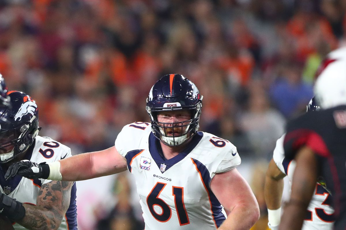 2127dca944c Updated  Matt Paradis signs with the Carolina Panthers - Mile High Report