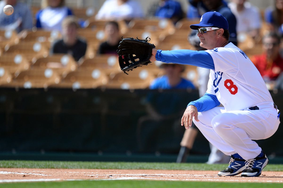 Don Mattingly might be the fourth-string catcher.
