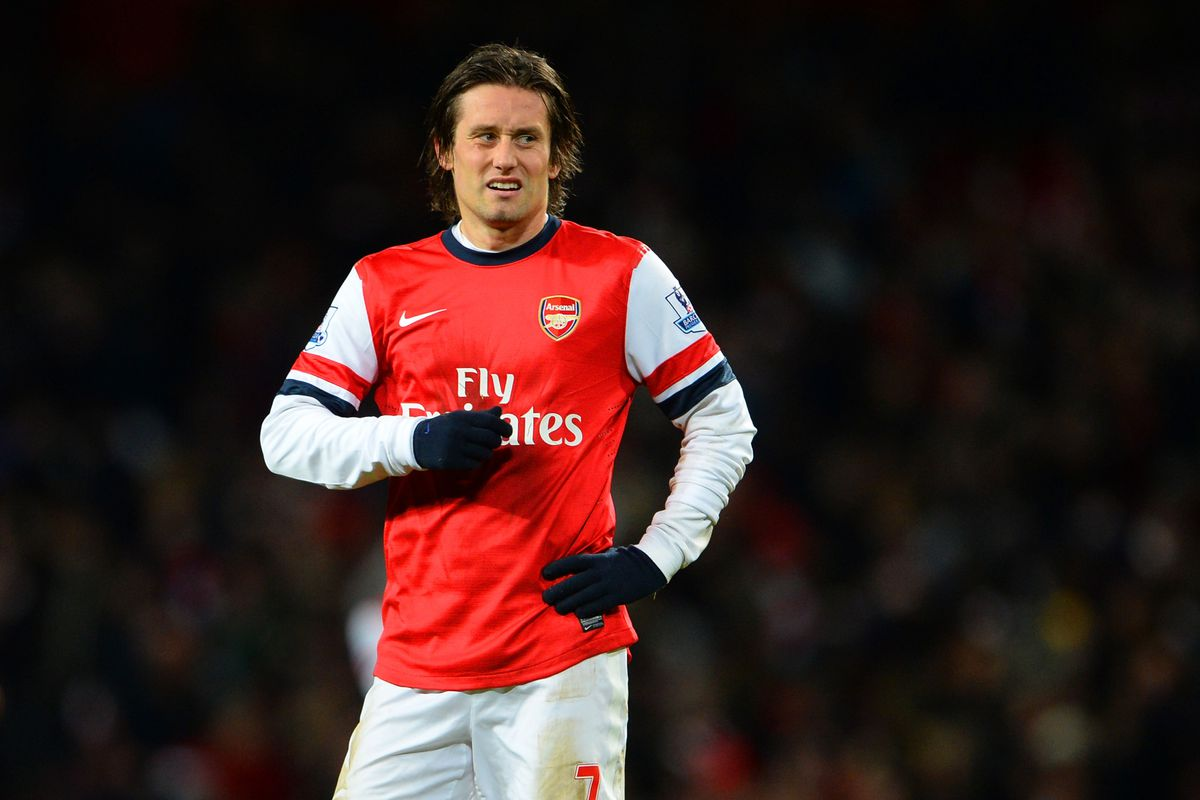 The Czech maestro has 139 appearances for Arsenal since transferring from Borussia Dortmund in 2006.