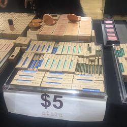 Assorted cosmetics, $5