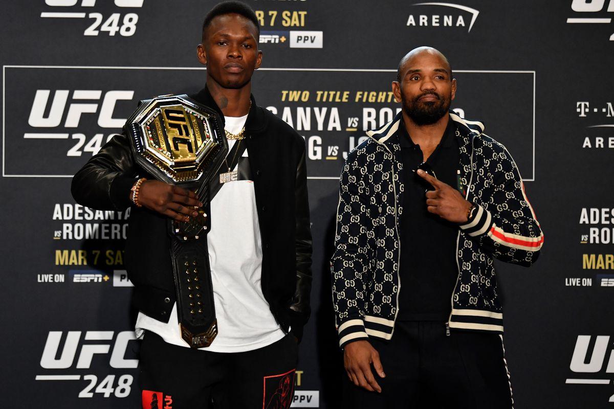 UFC 248: Ultimate Media Day