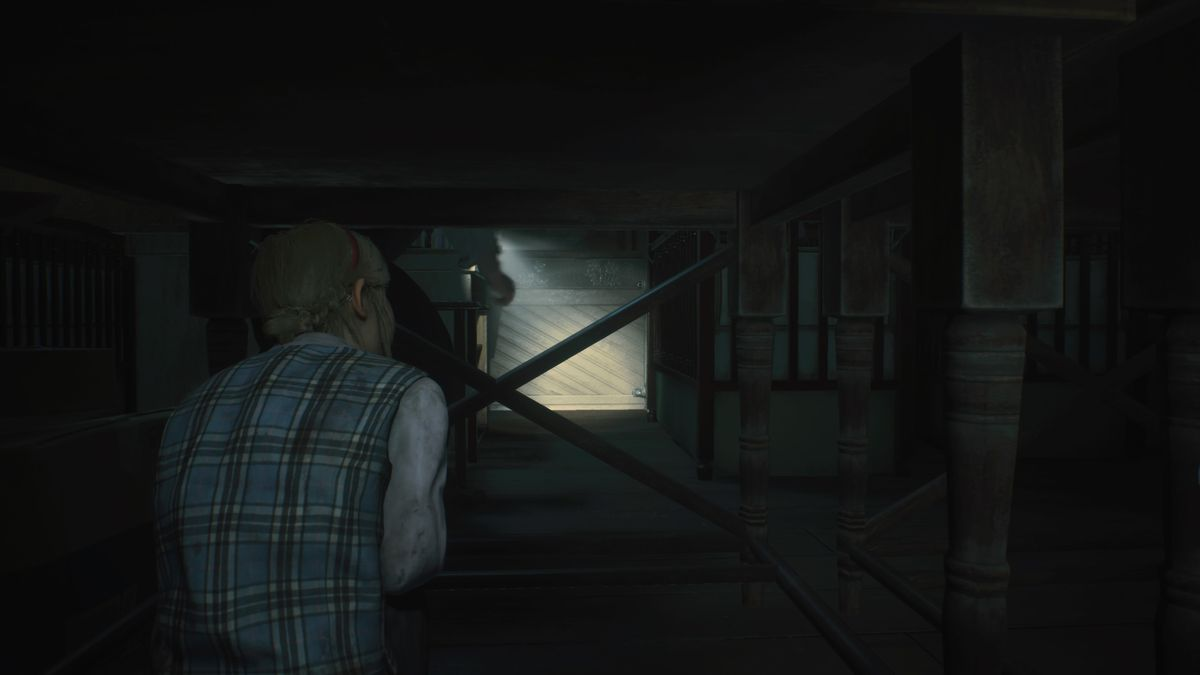 Sherry hiding spot Orphanage Resident Evil 2
