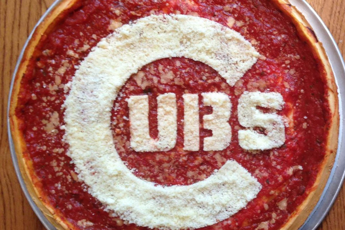 But Will It Break The Curse Special Giordano S Cubs Pizza
