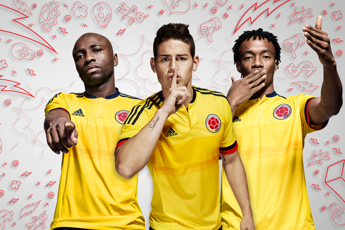 3062c13d5 Colombia's new Copa America home kit from adidas is fire - SBNation.com
