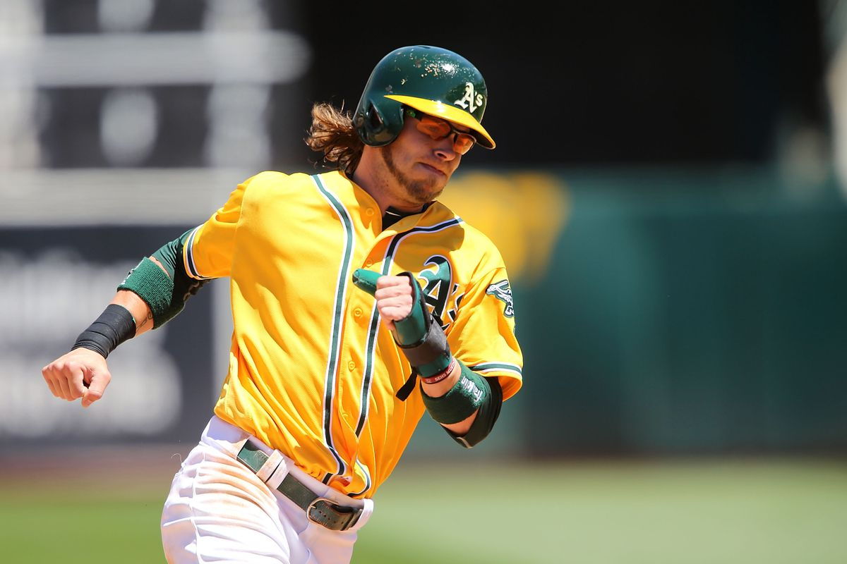 finest selection 45dc8 3e5ec Oakland A's trade rumors: Josh Reddick unlikely for Dodgers ...