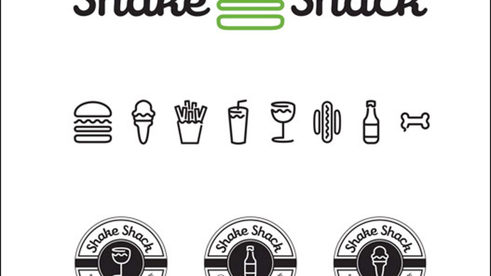 Shake Shack Logo Shackwatch Shake Shack's New Design Explained  Eater Ny
