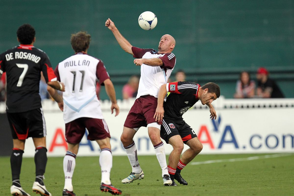 In response to the social media numbers, Conor Casey does a jig.