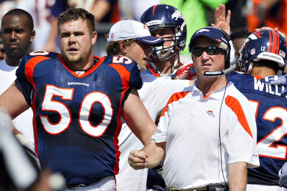 J.D. Walton, along with Chris Kuper were placed on the Broncos Preseason PUP Wednesday.