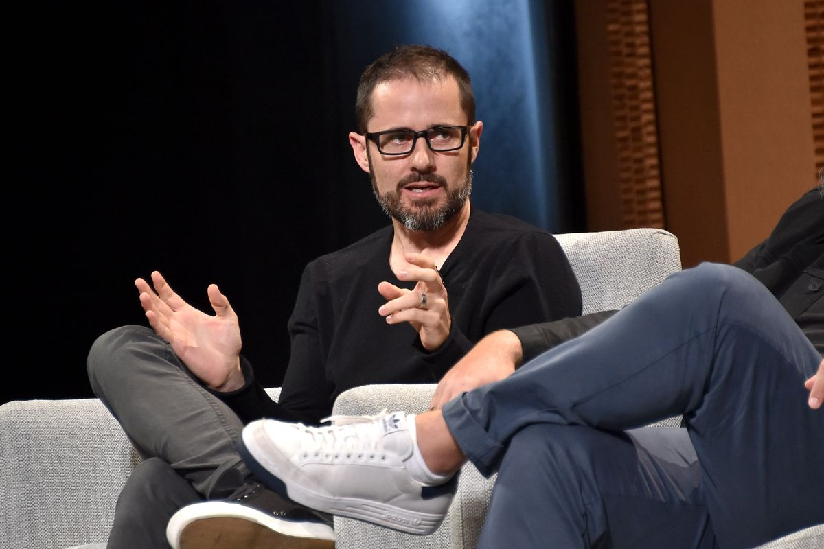 Twitter co-founder Ev Williams onstage