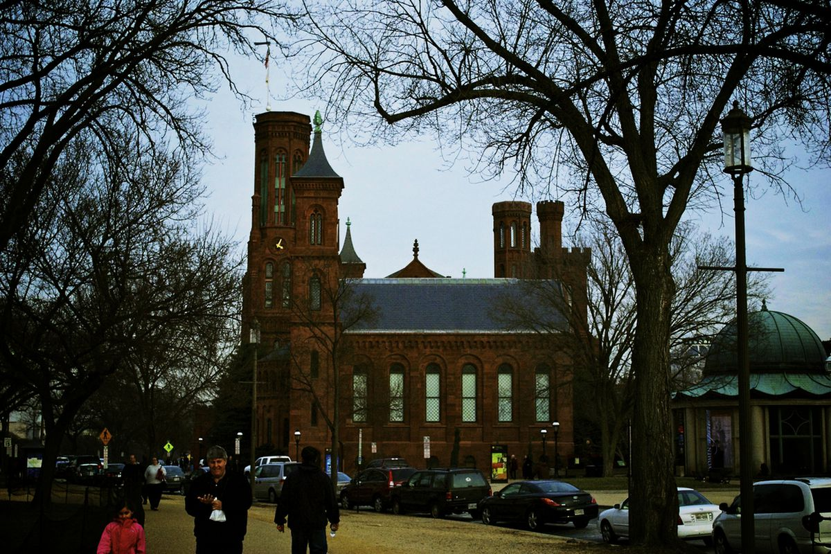 The Smithsonian Castle, National Mall, Washington DC. Photo by the author.