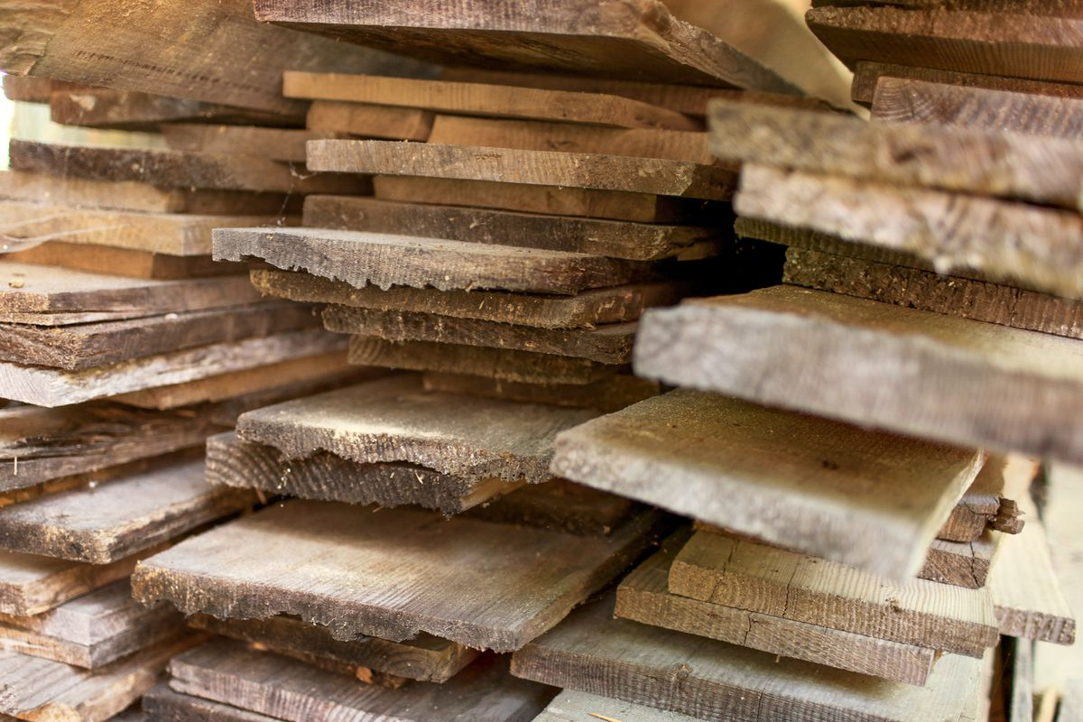 Salvaged Wood Boards
