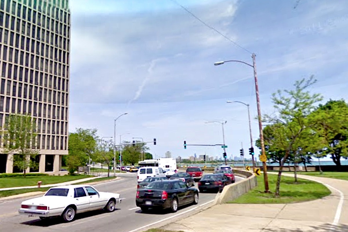 Several people were hurt in a crash March 16, 2020, at 67th Street and South South Shore Drive.